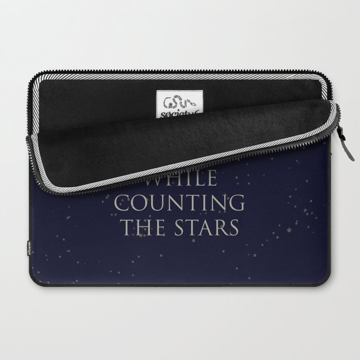 Don't Lose The Moon While Counting The Stars Laptop Sleeve