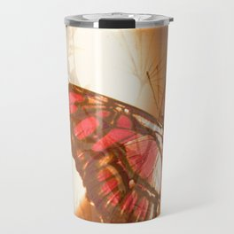 Butterfly in Trance Travel Mug