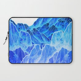 The cold mountain sea Laptop Sleeve