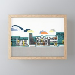 City Streets Framed Mini Art Print