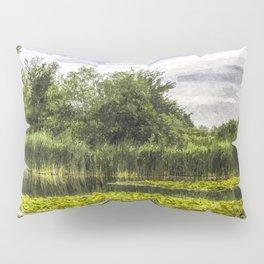 Lily Pond Art Pillow Sham