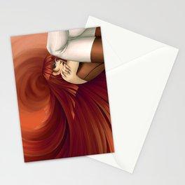 Time Antigrav - Red Stationery Cards
