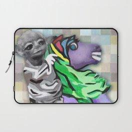 Creature on Horseback Laptop Sleeve