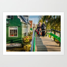 Home Style | Netherlands Architecture #8 | Street Photography Art Print