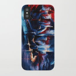 """""""City Lights"""" Painting iPhone Case"""