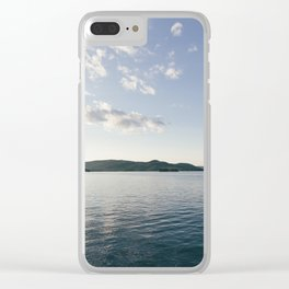 Up North Clear iPhone Case