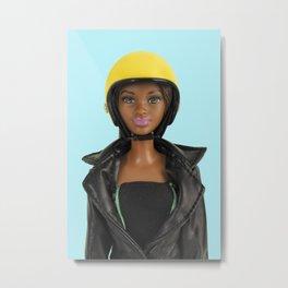 Safety first (pastel) Metal Print