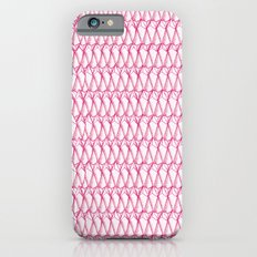 Pink pattern iPhone 6s Slim Case