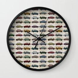 Trabant pattern Wall Clock