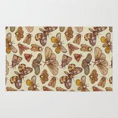 Moth Pattern Rug