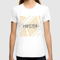 hipster T-shirts featuring Hipster by Mr and Mrs Quirynen
