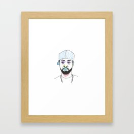 The Rapper-a-Day Project (Producer Edition) | Day 57: J Dilla Framed Art Print