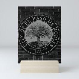 EL PASO DEL ROBLES Mini Art Print