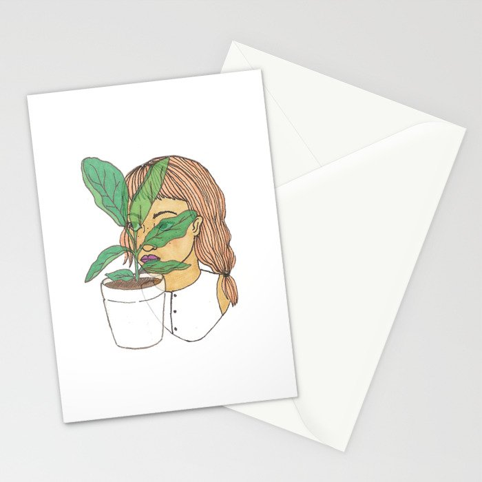 Fig Dreams Stationery Cards
