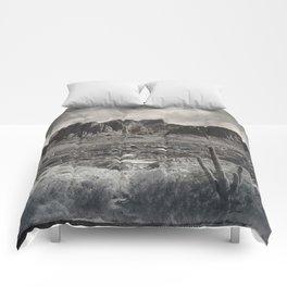 Superstition Mountain - Arizona Desert Comforters