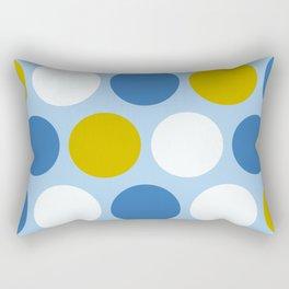 Mr Picnic Polka Dots Rectangular Pillow