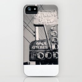 The Goof Spectra B&W iPhone Case