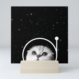 Thistle in Space Mini Art Print