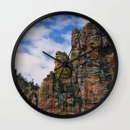Arizona Rock Formations Wall Clock