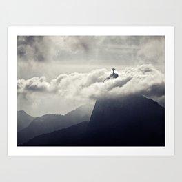 Cristo Redentor Art Print
