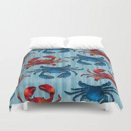 Crab! Duvet Cover