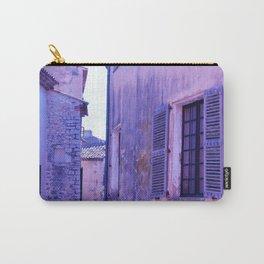 Ancient purple village Carry-All Pouch