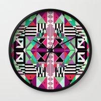 Crazy Eights Wall Clock