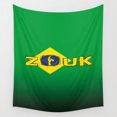 colors of brazil - lets dance brazilian zouk Wall Tapestry
