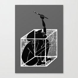 graphistophilus Canvas Print