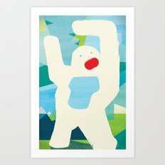 Abominable Art Print