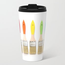 Paint the Rainbow Travel Mug