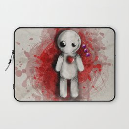 Halloween Theme [Voodoo Doll] Laptop Sleeve
