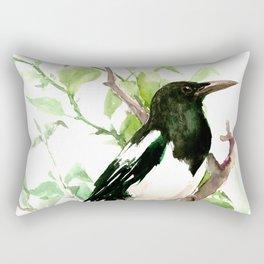 Magpie Bird, magpie Rectangular Pillow