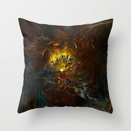 secret places of ghostly fairy-1 Throw Pillow