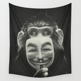 Anonymous Wall Tapestry