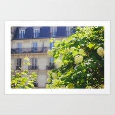 Promenade Plantée Art Print