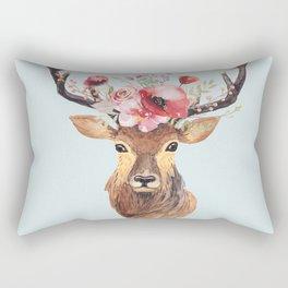 Bohemian Deer 2 Rectangular Pillow