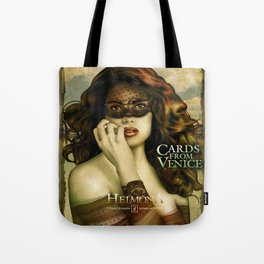 HEIMONA - CARDS FROM VENICE Tote Bag