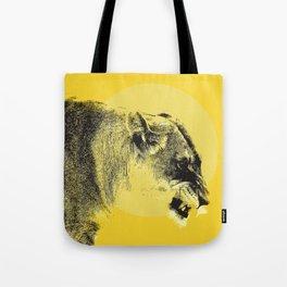 Lioness Lion Tote Bag