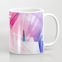 Enlighten - Geometric Abstract Art Coffee Mug