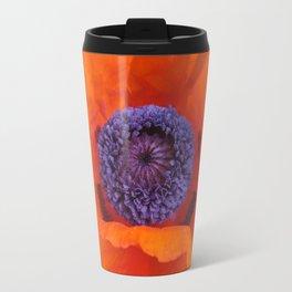 Poppy Portrait Travel Mug