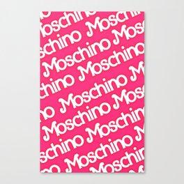 Moschino Everything Canvas Print