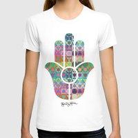 hamsa T-shirts featuring Hamsa  by Gabriel J Galvan