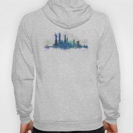 NY New York City Skyline Hoody