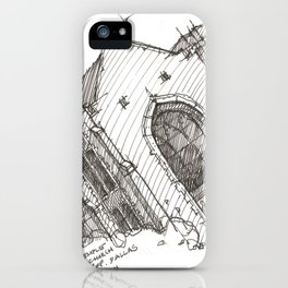 Oa[k]cliff Temple iPhone Case