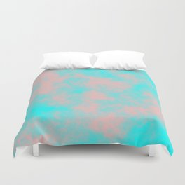 Cotton Candy Clouds - Pink & Blue Duvet Cover
