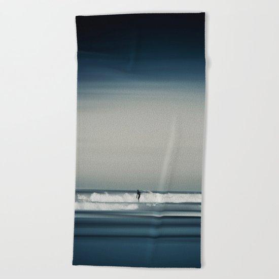 Sea and Surfer 16 Beach Towel