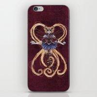 "sailormoon iPhone & iPod Skins featuring Steampunk Sailormoon by Barbora ""Mad Alice"" Urbankova"