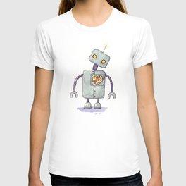 Robot With A Heart T-shirt
