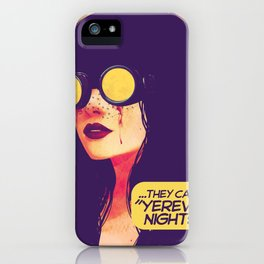 yerevan nights iPhone Case